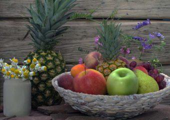 Ontwerp een houten fruitschaal