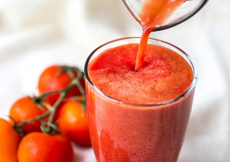 Tomatensap – genezend plezier